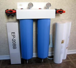 Aquios FS-234 Whole House Jumbo Water Filter/Softener