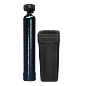 Iron Pro 48k Water softener and Iron Filter with Flecker 5600 SXT Digital Metered Valve –Treat Whole House up To 48,000 Grains